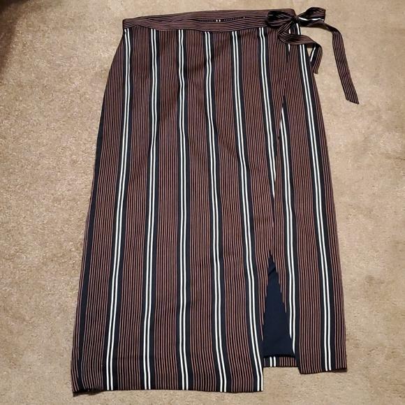 Banana Republic Wrap Maxi Skirt